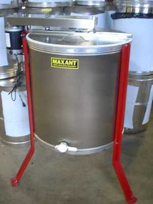 A honey extractor