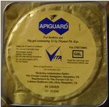 Apiguard Tray