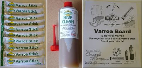 Beevital Hiveclean Products